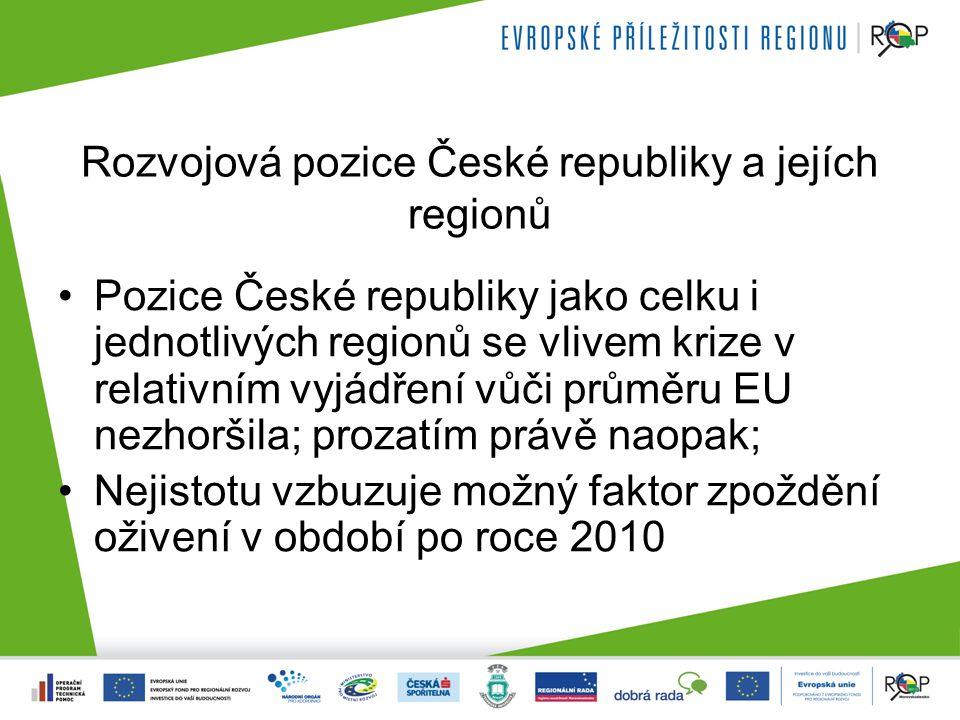Porovnání OP v období 2007 - 2013 ERDFESF CZ213 SK152 PL291 HU192