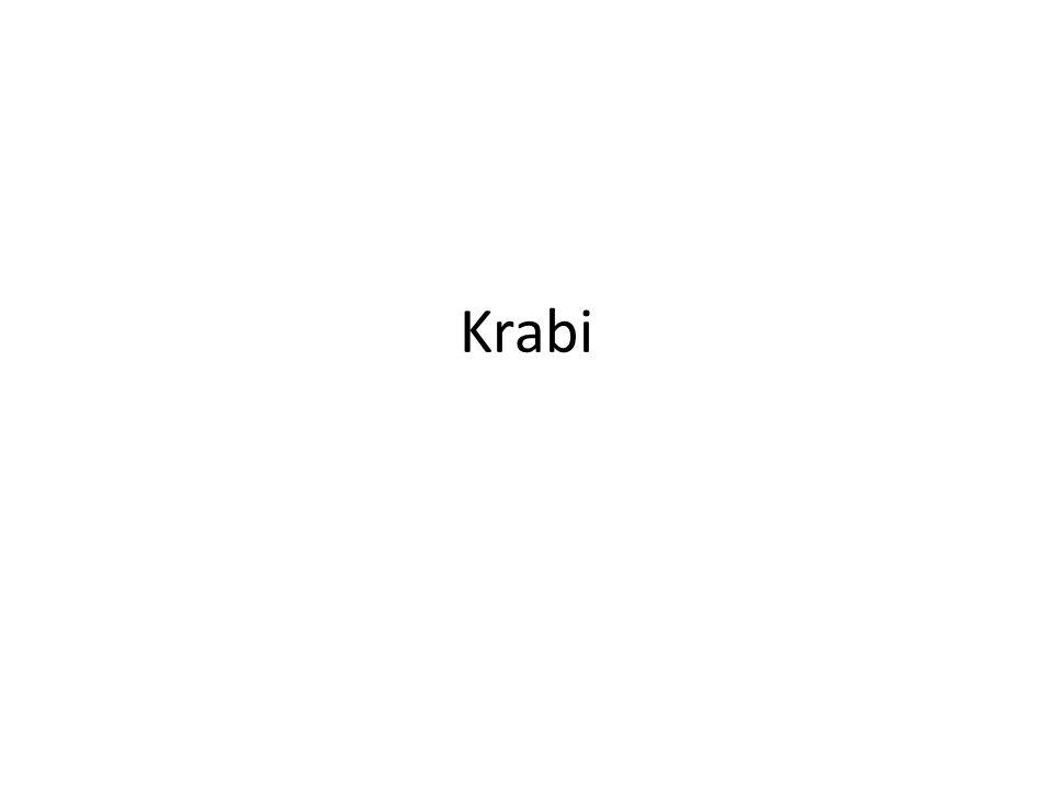 Krabi - zástupci Krab hráškový – nejmenší krab Krab jedlý – rybolov Velekrab japonský – největší krab krab houslista – velké zvětšení 1 klepeta plážoví kraby – přes den v noře, na noc vylézají Krab palmový – největší suchozemský krab – velmi dobrý čich
