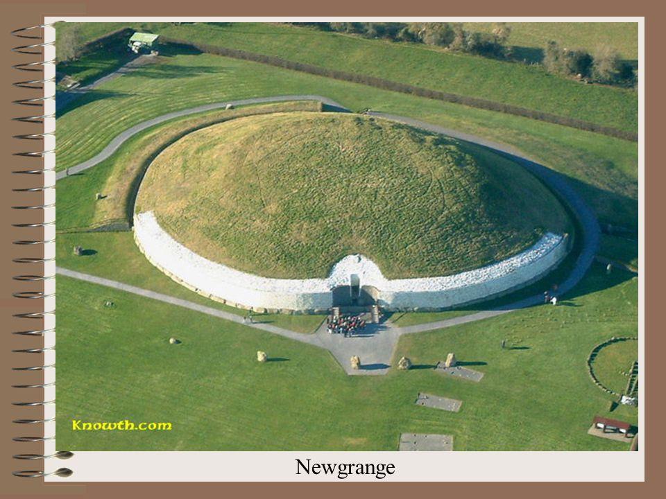 "Newgrange – ""vchodový kámen Newgrange – ""hrobka"