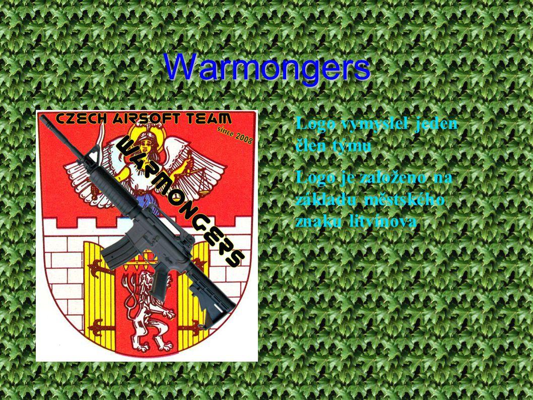 Warmongers ● Logo vymyslel jeden člen týmu ● Logo je založeno na základu městského znaku litvínova