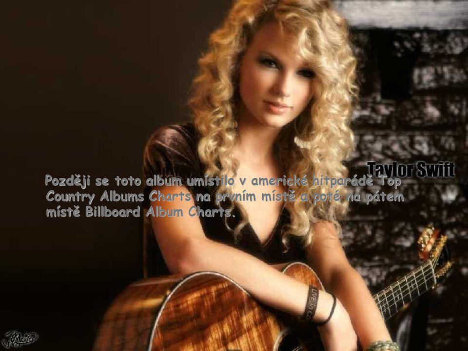 """Taylorin první singl s názvem """"Tim McGraw"""" vyšel v rádiích v létě roku 2006 a 24. října téhož roku vyšlo její stejnojmenné album. Tay napsala všechny"""