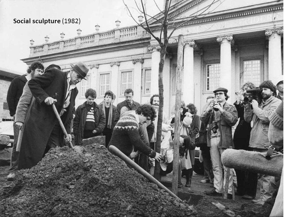 Social sculpture (1982)