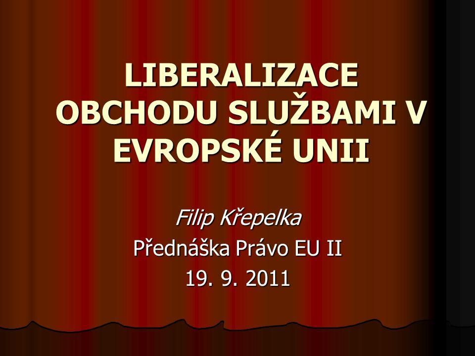 Pochybnosti o dosažené liberalizaci na počátku 21.