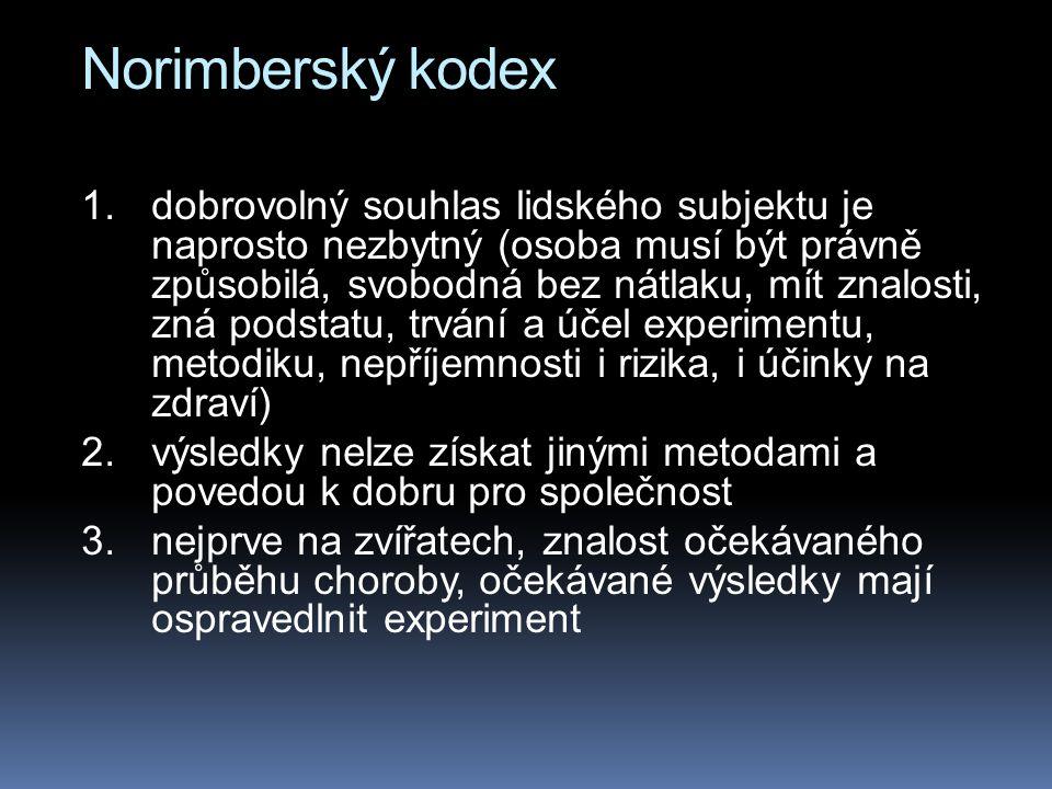 Norimberský kodex 1.