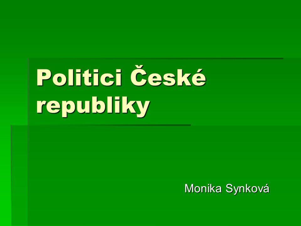 Politici České republiky Monika Synková