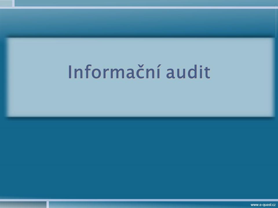 www.e-quest.cz Informační audit