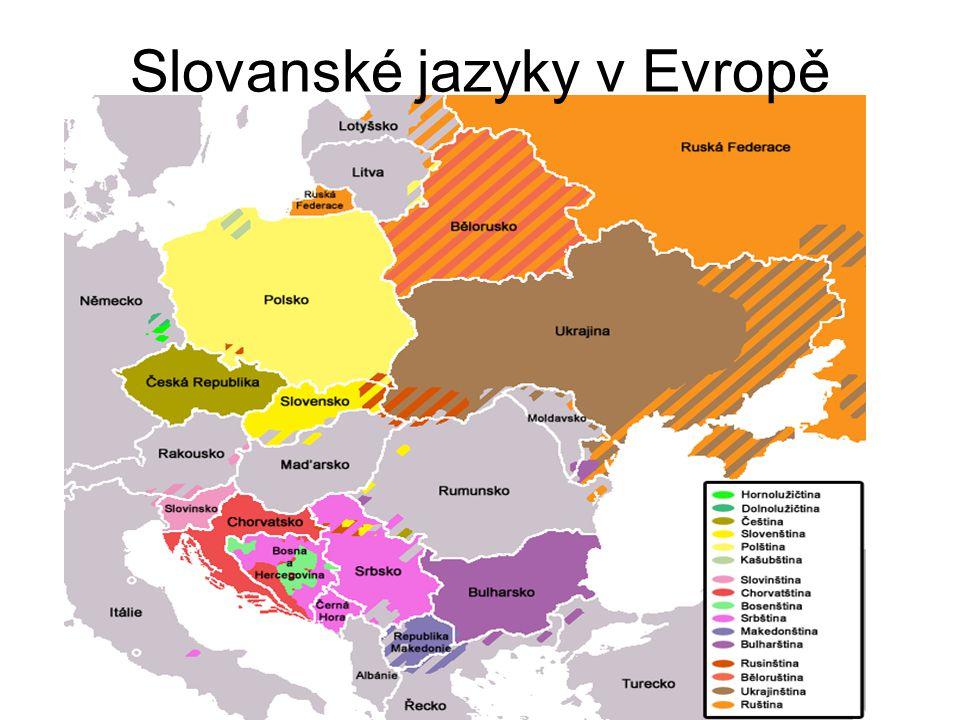 Slovanské jazyky v Evropě
