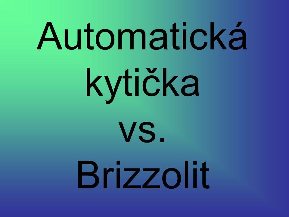 Automatická kytička vs. Brizzolit