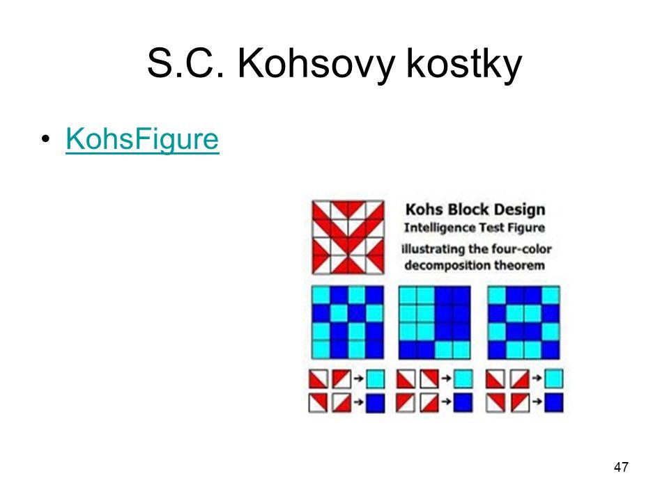 47 S.C. Kohsovy kostky KohsFigure