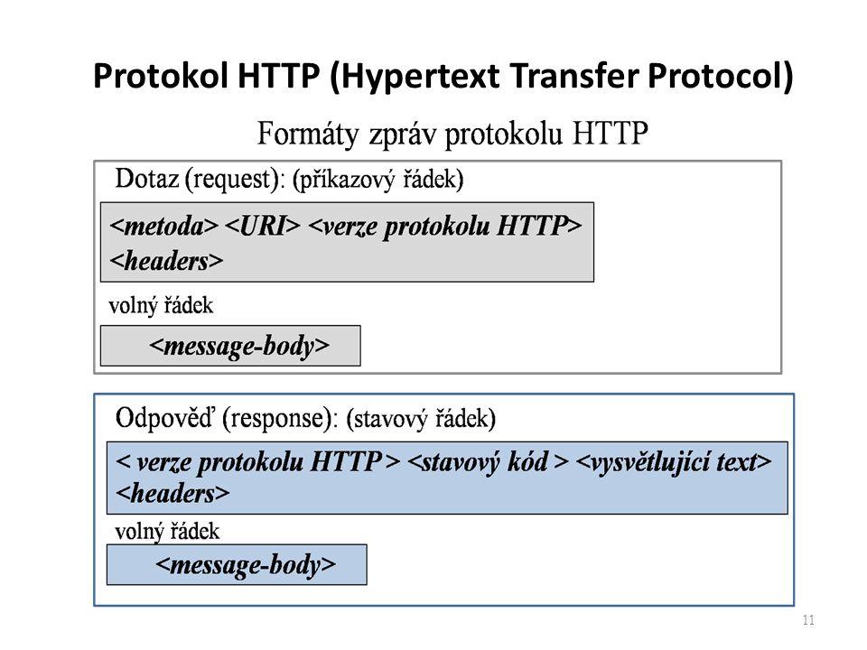 Protokol HTTP (Hypertext Transfer Protocol) 11