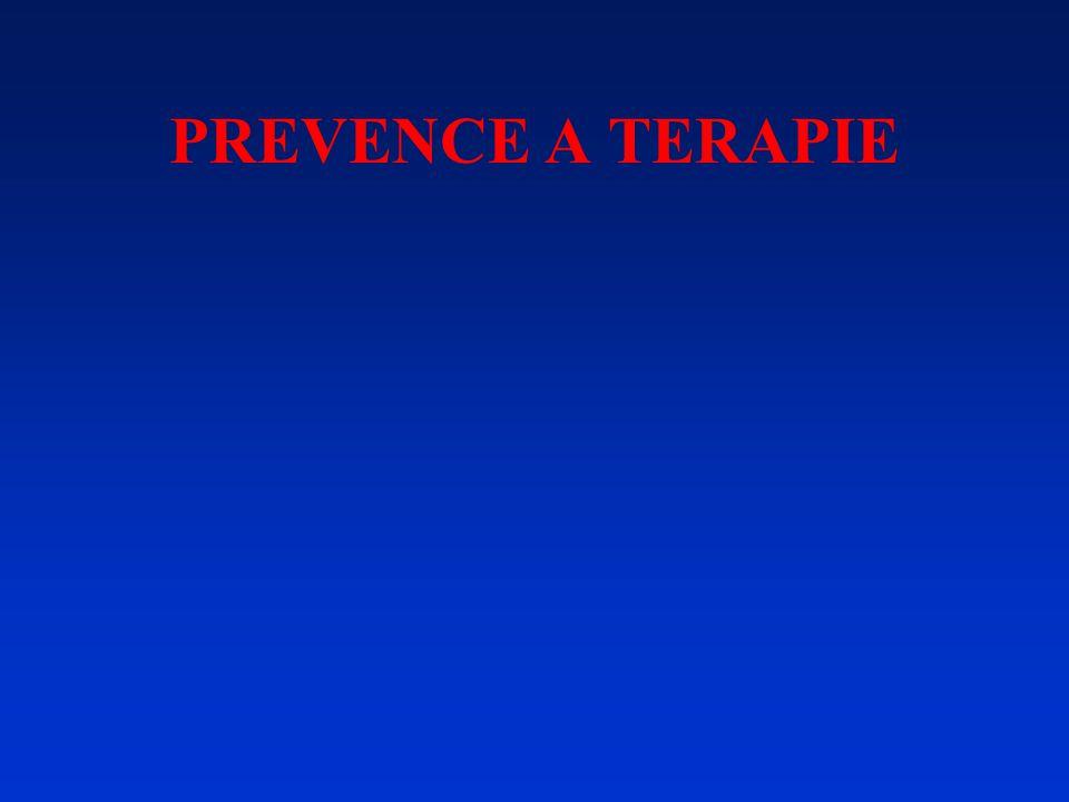 PREVENCE A TERAPIE