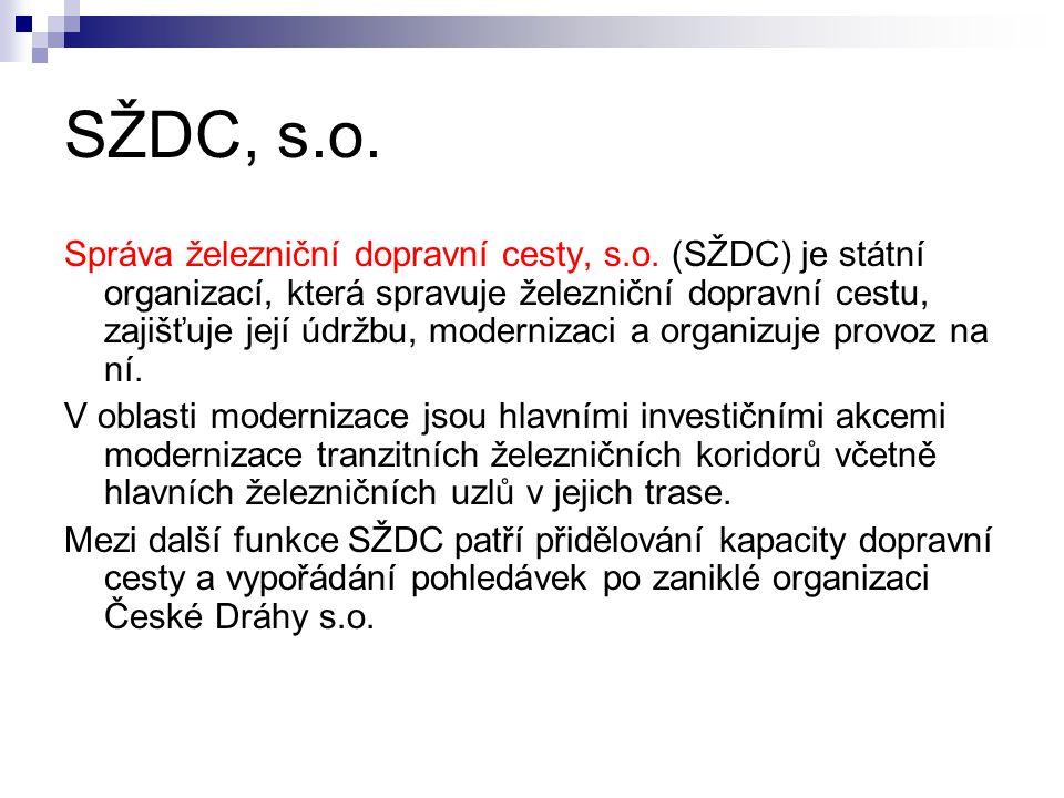 SŽDC, s.o. Správa železniční dopravní cesty, s.o.