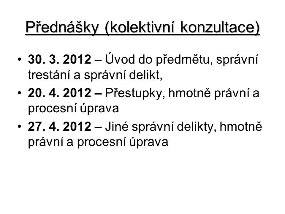 Přednášky (kolektivní konzultace) 30.3.