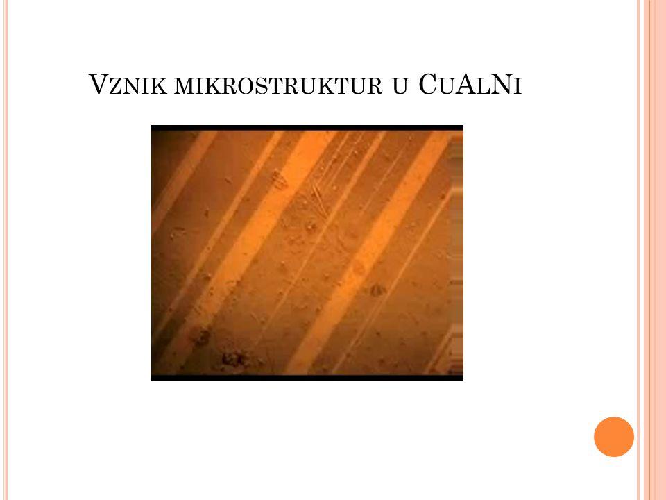 S UPERELASTICITA Extrémní elastičnost Konstantní napětí Plně vratné 14x více než u běžného kovu