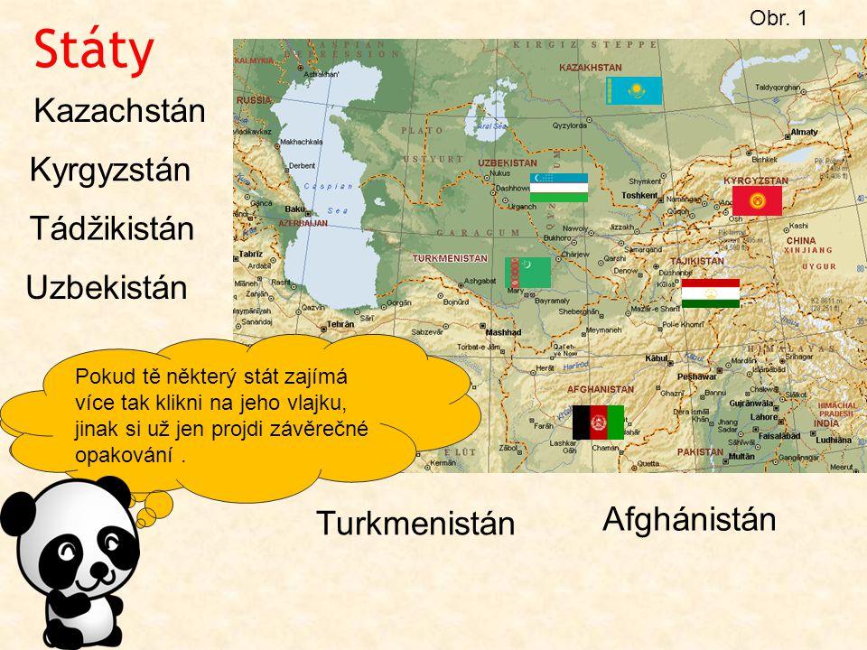 OPAKOVÁNÍ Doplň: Střední Asie leží na východ od ……………… moře.