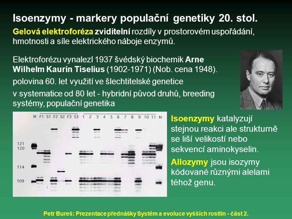 Petr Bureš: Prezentace přednášky Systém a evoluce vyšších rostlin - část 2.