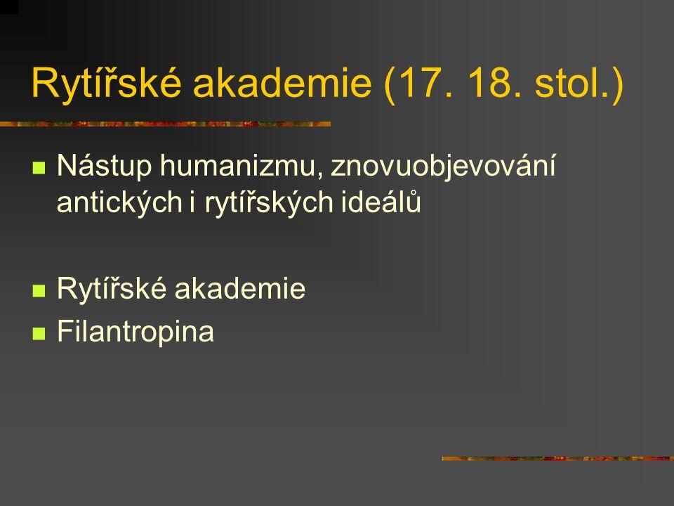 Rytířské akademie (17.18.