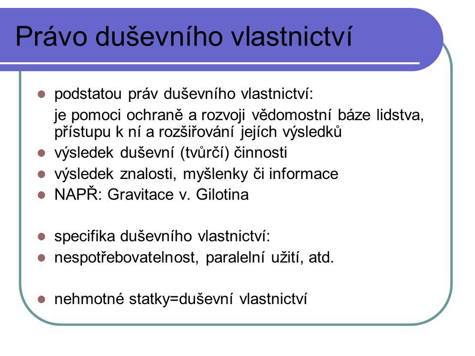 Autorské právo 4) Právo rozhlasového a televizního vysílatele k jeho vysílání - § 83 a násl.