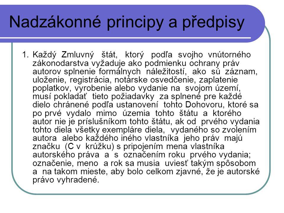 5) Autorské právo Databáze – dva druhy: 2.
