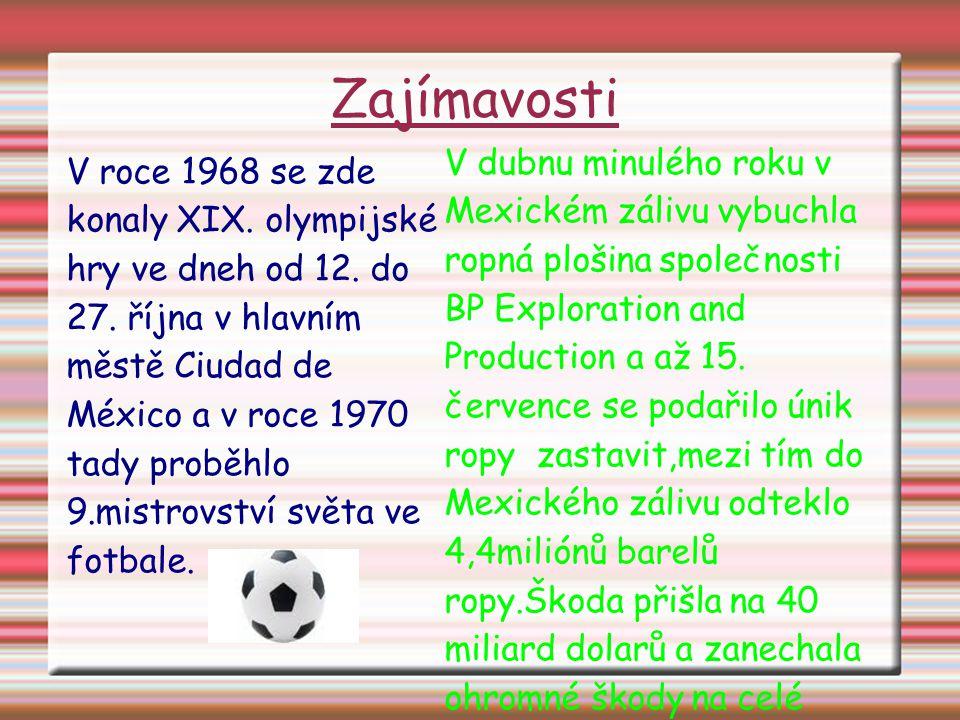 Zajímavosti V roce 1968 se zde konaly XIX. olympijské hry ve dneh od 12.