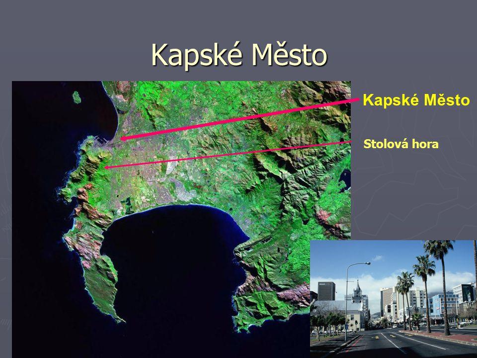 Didaktika přírodních věd10 Kapské Město Stolová hora