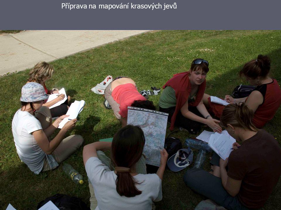 Didaktika přírodních věd24 Příprava na mapování krasových jevů