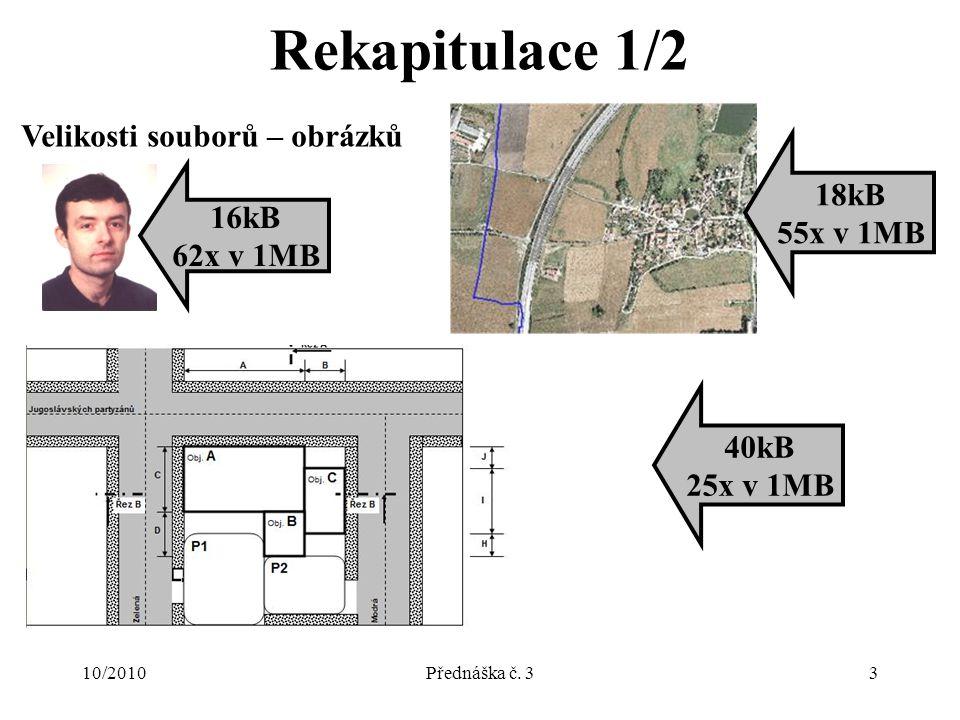 10/2010Přednáška č.