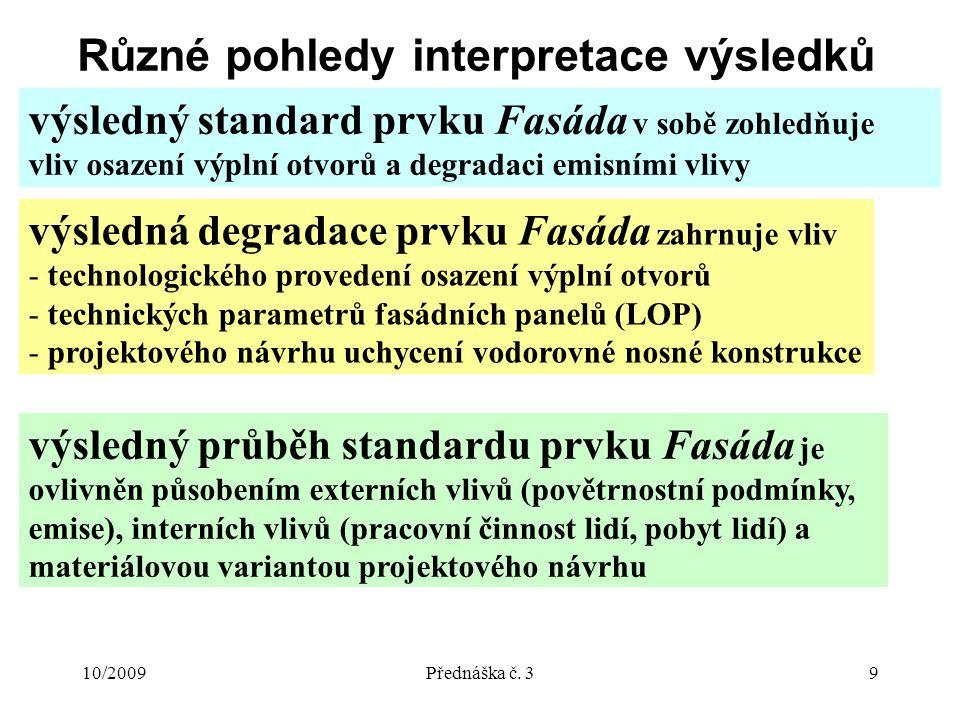 10/2009Přednáška č.