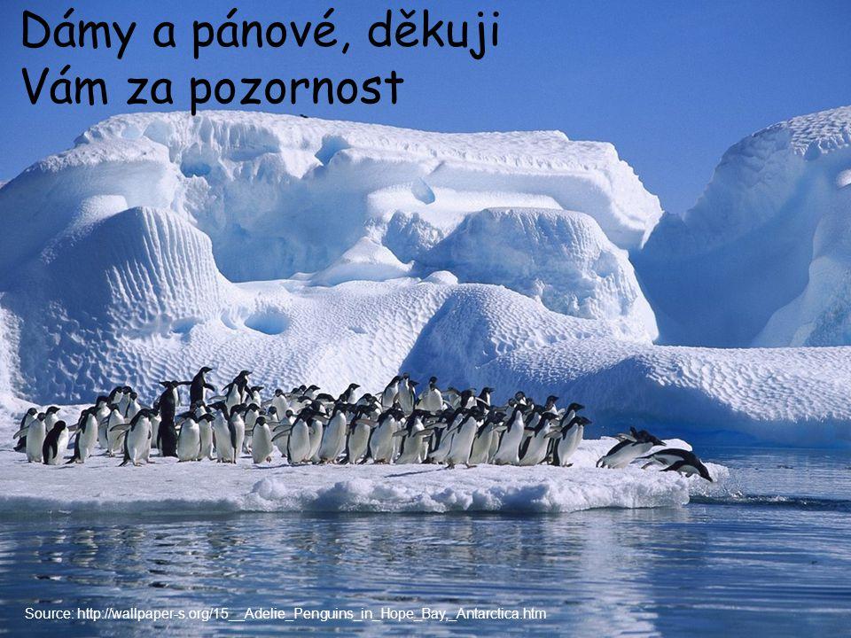 Dámy a pánové, děkuji Vám za pozornost Source: http://wallpaper-s.org/15__Adelie_Penguins_in_Hope_Bay,_Antarctica.htm