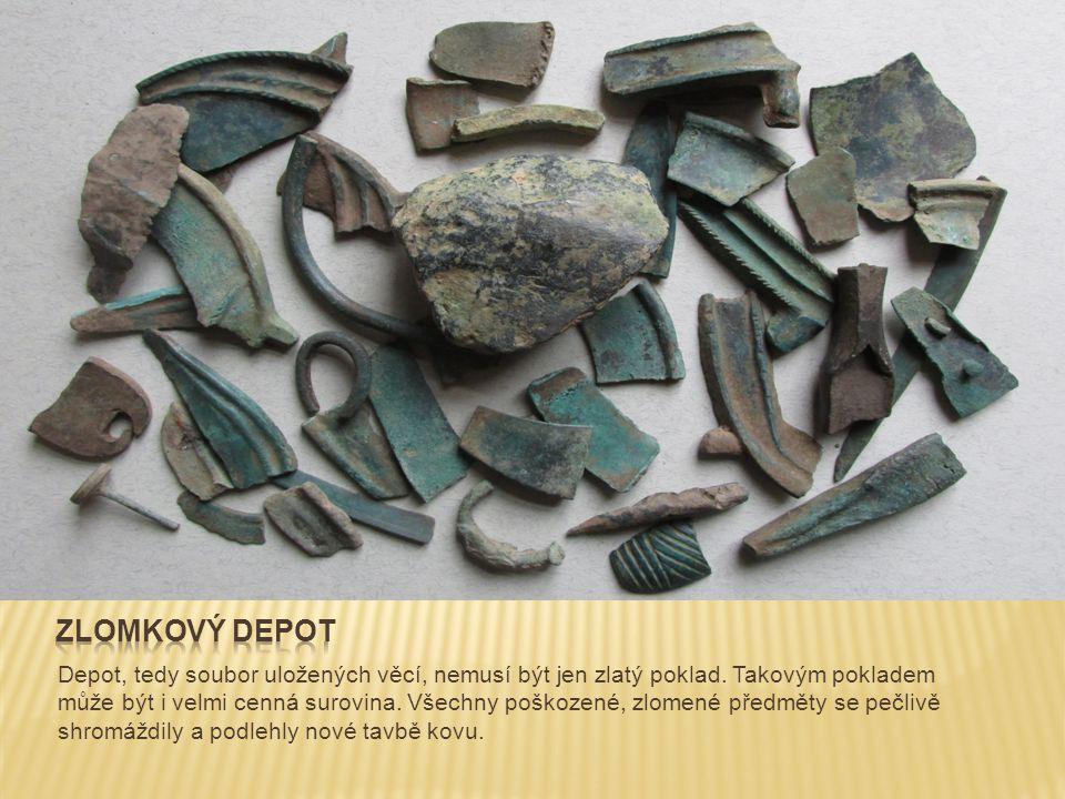 Depot, tedy soubor uložených věcí, nemusí být jen zlatý poklad. Takovým pokladem může být i velmi cenná surovina. Všechny poškozené, zlomené předměty