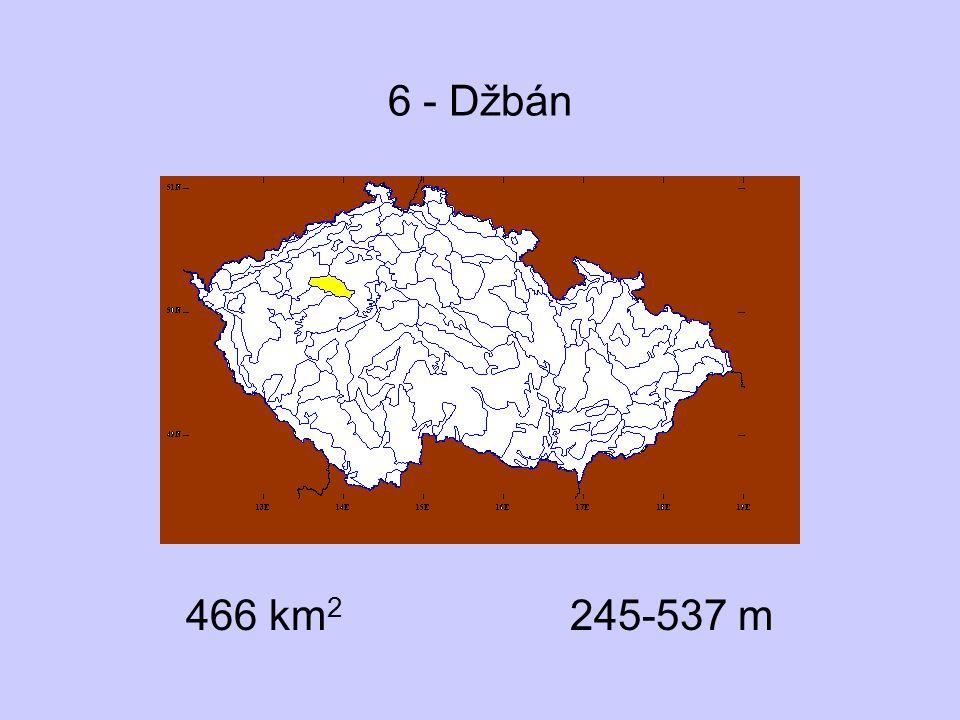 6 - Džbán 466 km 2 245-537 m