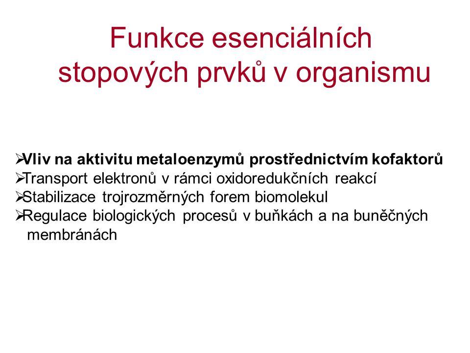 ZnCuSe ALP Alkohol-dehydrogenáza DNA-polymeráza Retinol-dehydrogenáza SOD Cytochrom-c-oxidáza SOD MAO Lysyl-oxidáza Ceruloplasmin GSHPx 5´deiodáza metaloenzymy