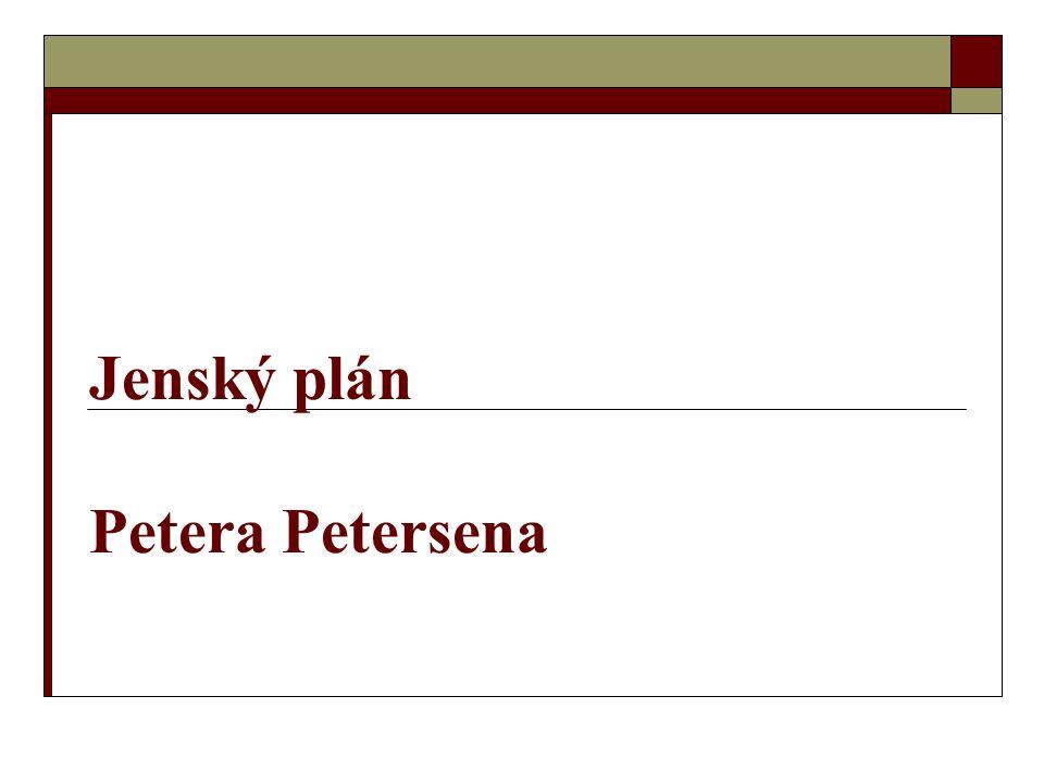 Jenský plán Petera Petersena