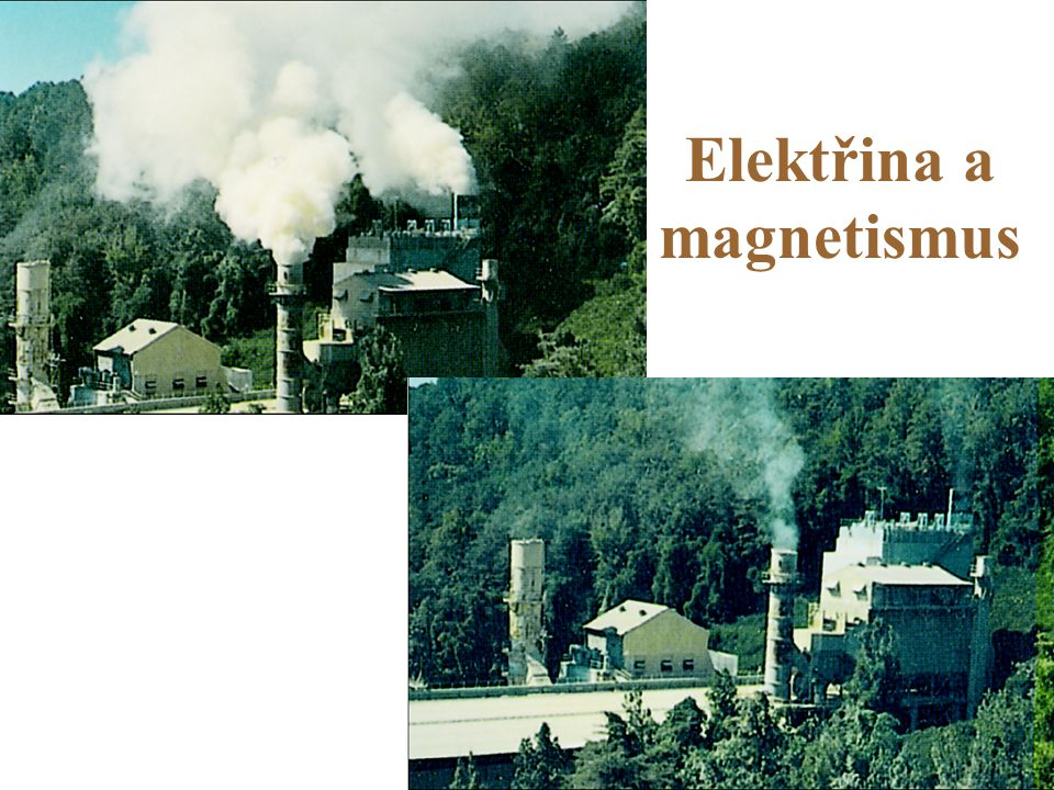 Elektřina a magnetismus