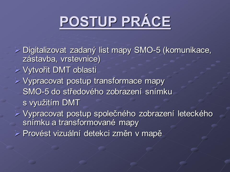 SHP 3DSHP pomocí vytvořeného DMT