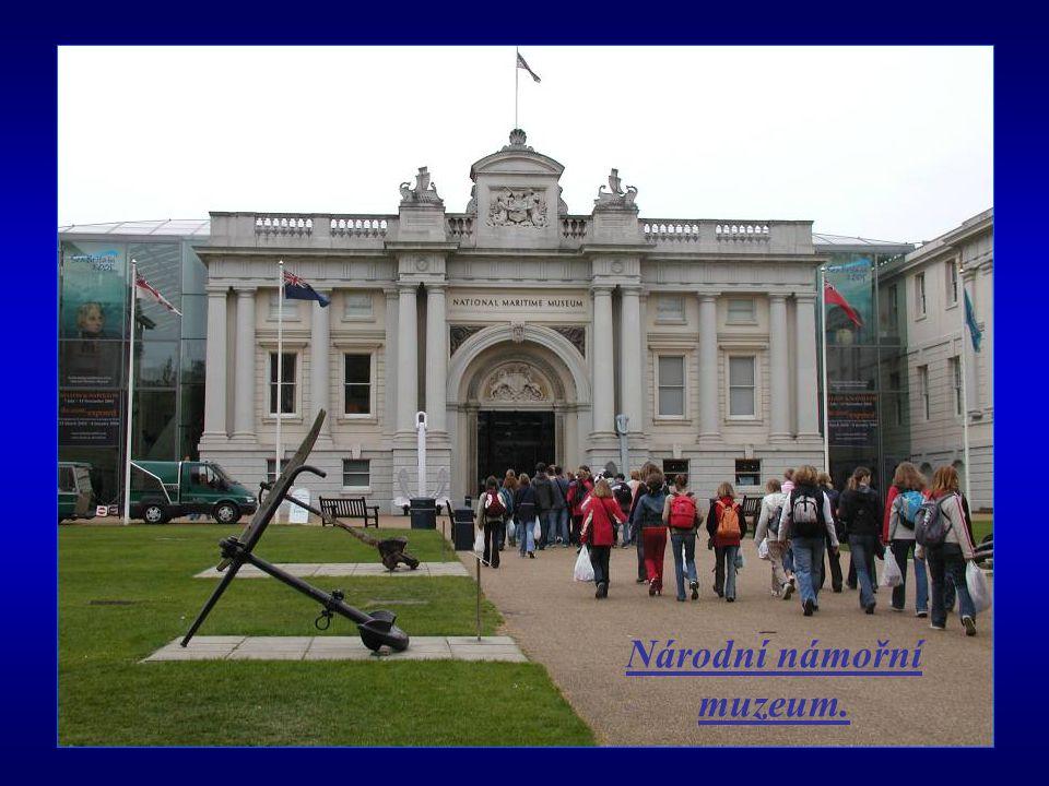 Národní námořní muzeum.