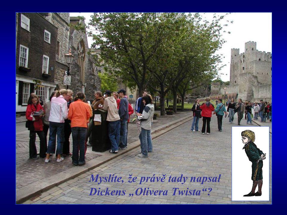 """Myslíte, že právě tady napsal Dickens """"Olivera Twista ?"""