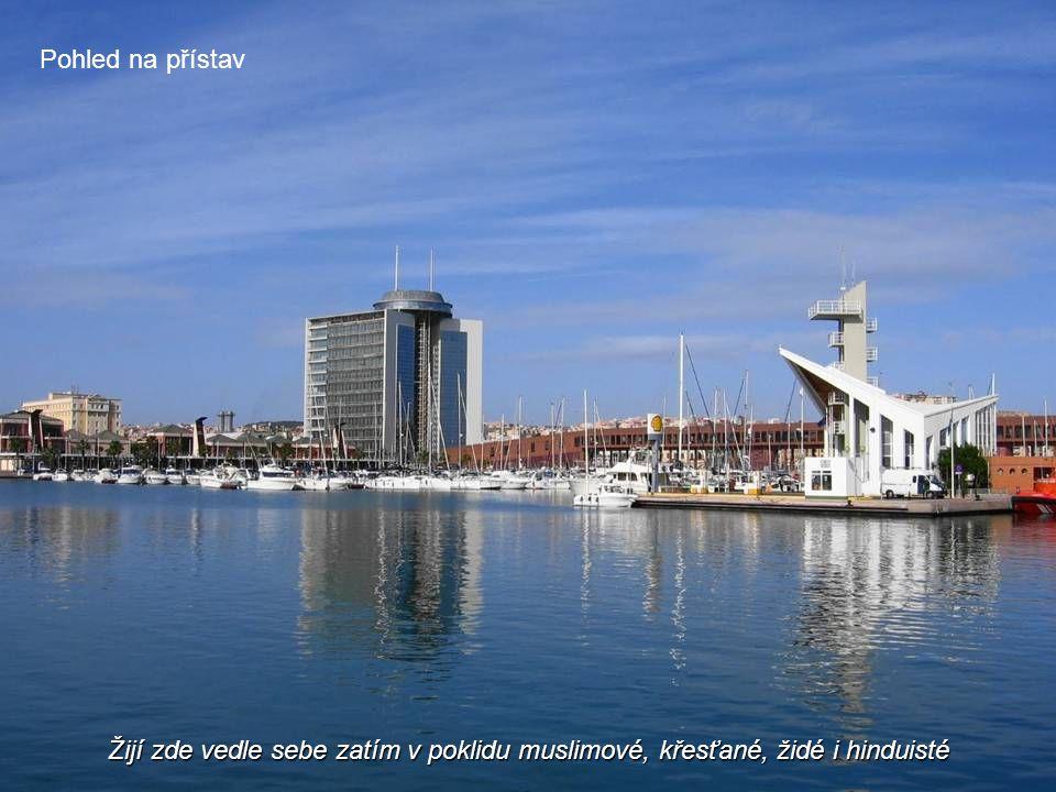 Dnes je Melilla městem, kde se střetává mnoho kultur a etnik