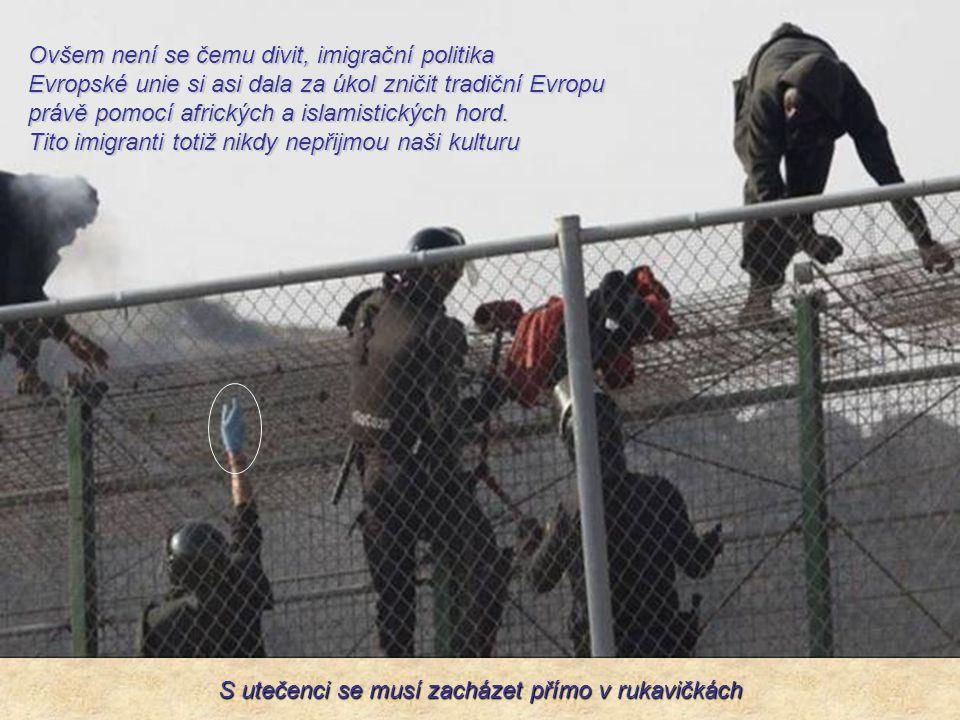 Podle nařízení Evropské komise nesmí tuto hranici Španělsko nijak speciálně bránit a španělští pohraničníci mají zákaz střelby do těch, kteří nelegálně překračují hranice.