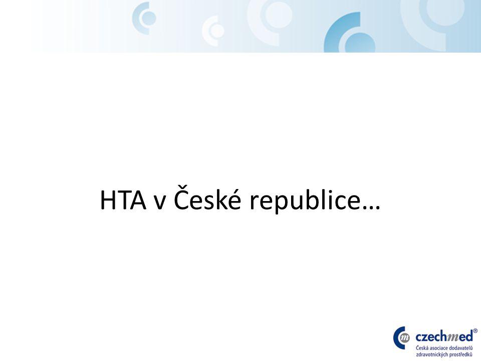 HTA v České republice…