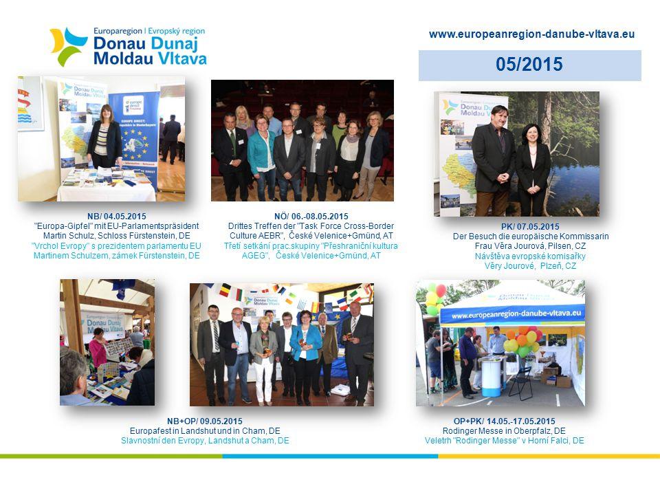 www.europeanregion-danube-vltava.eu 05/2015 NB/ 04.05.2015