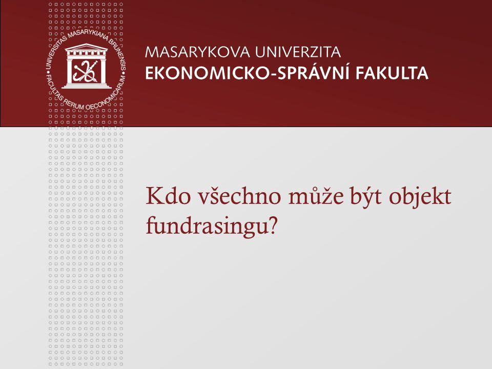 www.econ.muni.cz Zdroje financování NO z vlastní č innosti od jiných subjekt ů z neve ř ejných zdroj ů z ve ř ejných zdroj ů