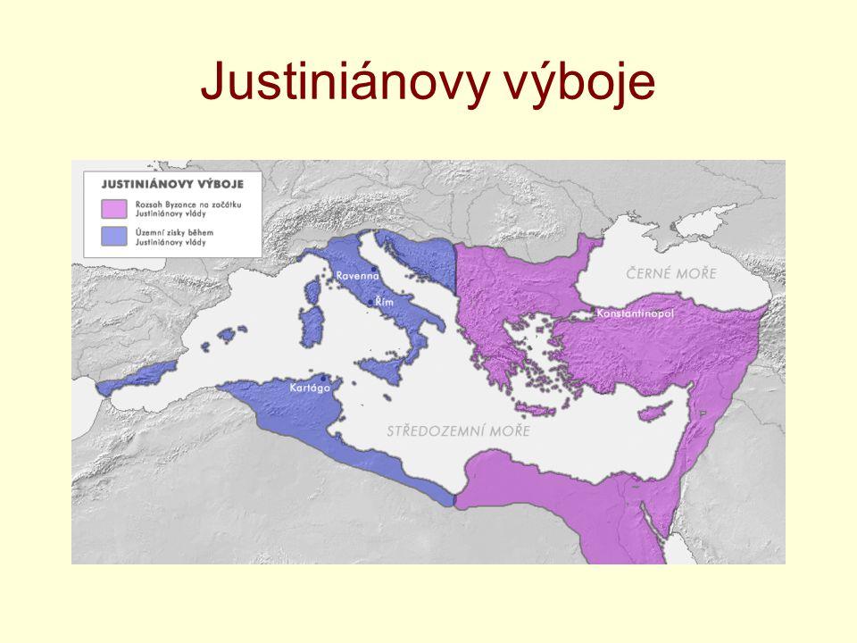 Justiniánovy výboje
