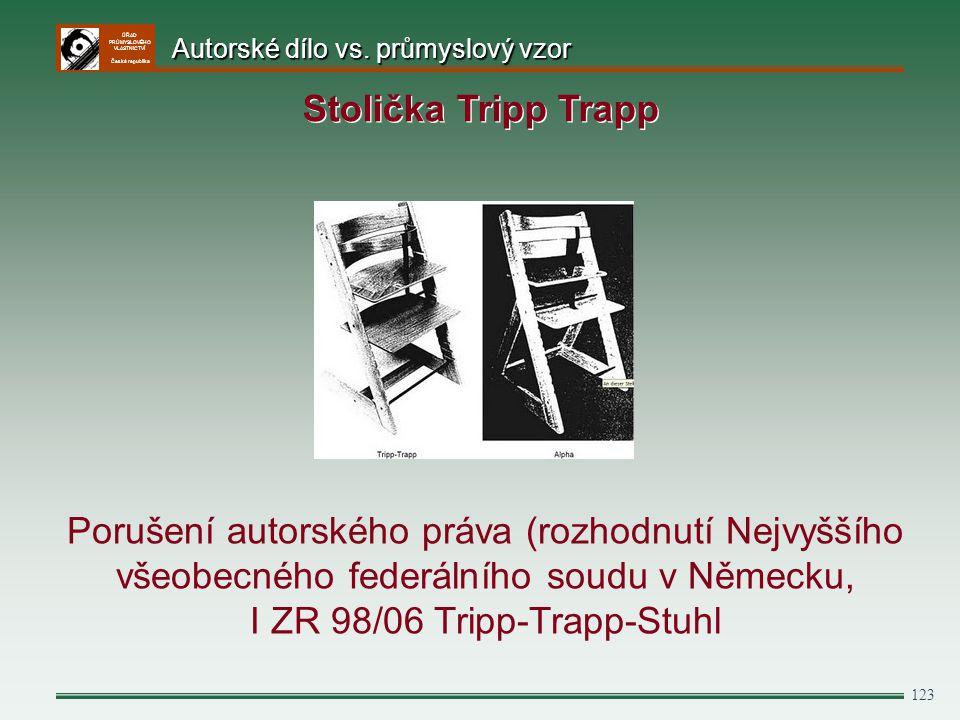 ÚŘAD PRŮMYSLOVÉHO VLASTNICTVÍ Česká republika 123 Porušení autorského práva (rozhodnutí Nejvyššího všeobecného federálního soudu v Německu, I ZR 98/06