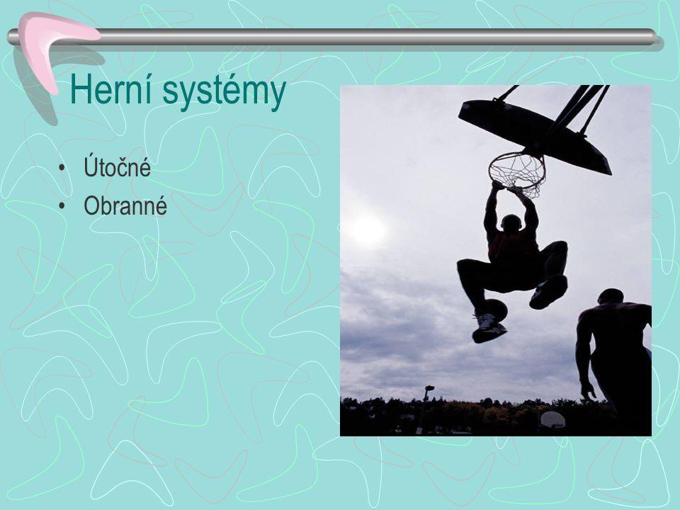 Herní systémy Útočné Obranné