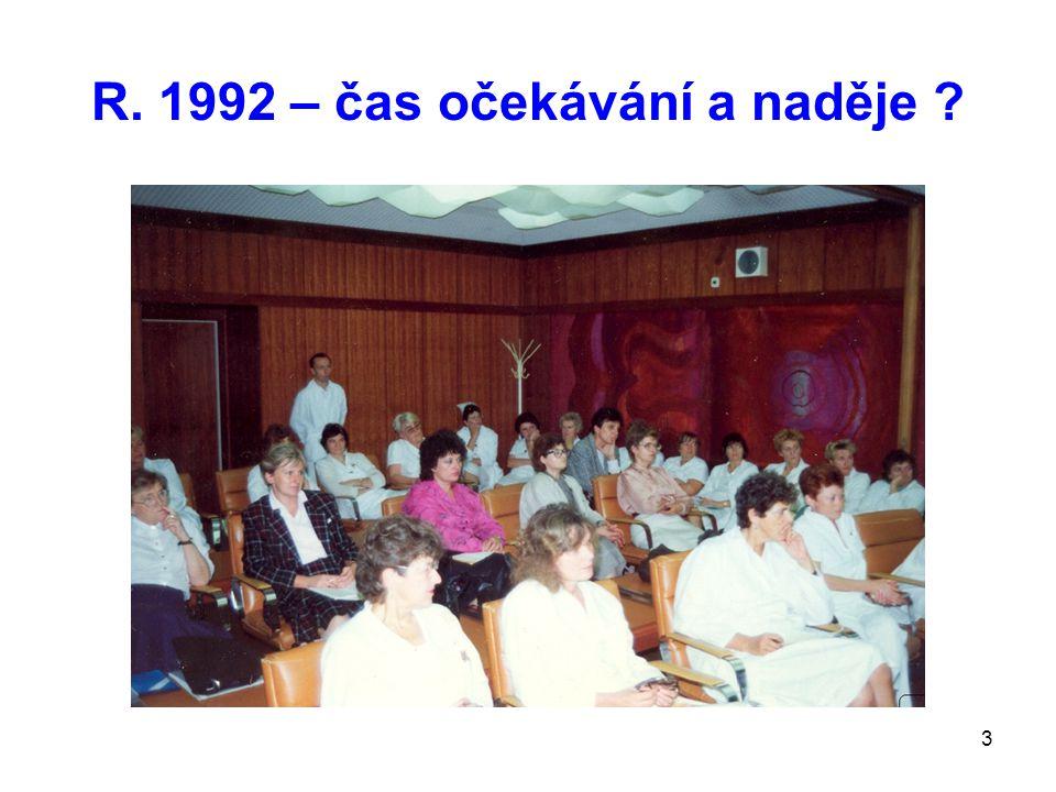 3 R. 1992 – čas očekávání a naděje ?