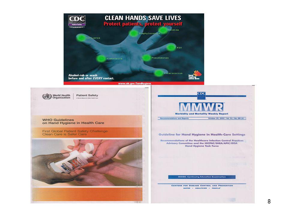 19 Rok 2010 litr/lůžko 5,71 20117,65 20129,37 201313,21 Spotřeba dezinfekčních přípravků na ruce 2010 - 2013