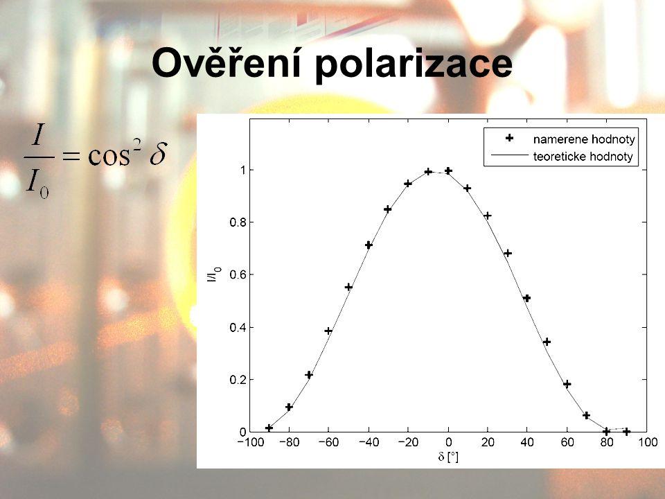 Ověření polarizace