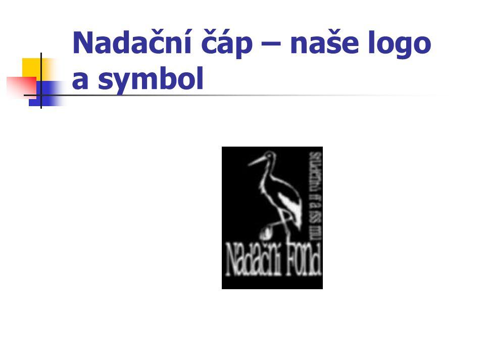 Nadační čáp – naše logo a symbol