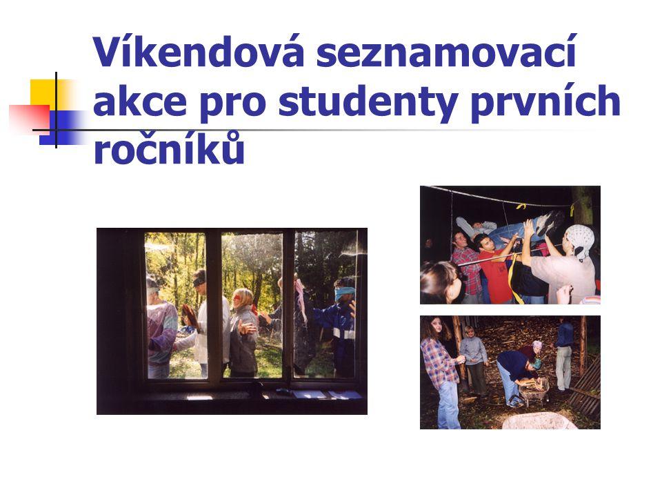 Víkendová seznamovací akce pro studenty prvních ročníků
